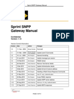 Sprint SNPP Gateway Manual v1-13