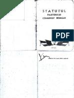 1945 Statutul PCR