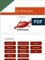 Aortic Aneurysm PPT