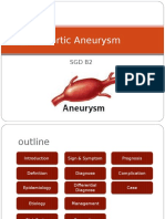 Aortic Aneurysm PPT