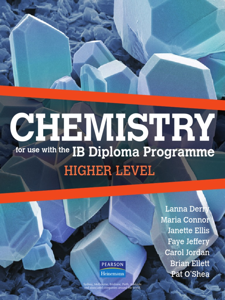 IB Diploma Chemistry HL Textbook pdf | Atomic Orbital | Electron