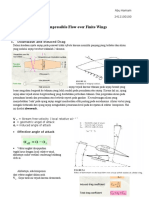 Incompressible Flow Over Finite Wings