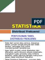 STK 3. Distribusi Frekuensi