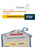 OB 14e_5 Personality & Values