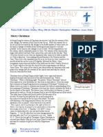December Newsletter 2015 Copy