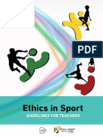 Ethics in Sport Guidelines for Teachers