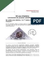 50 ans du satellite Astérix