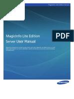 MagicInfo Lite Edition Server_Eng05