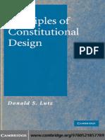 Principii Designului Constitutional