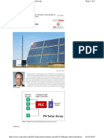 Wireless Technology for Secutity PV Plants
