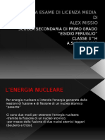Tesina Power Point nucleare