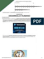 Concepto de Desarrollo Humano