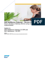 How to Develop a Gateway Service Using Code Based Implementation