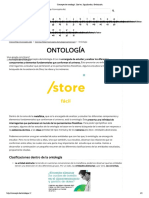 Concepto de ontología