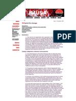 IMUSA REDprint for Change Nov 1995