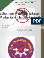 Presentasi Malaria