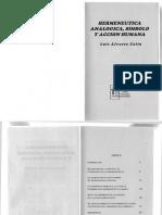 Alvarez Colin Luis - Hermeneutica Analogica Simbolo y Accion Humana