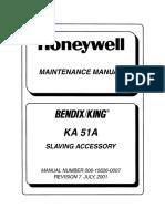 KA51A Mant. Manual