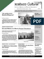 Chacabuco Cultural Periodico Nro 20