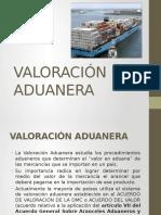 Valoracion aduanera