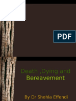 Death, Dying & Bereavement
