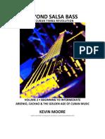 Sample Chart for eBook Beyond Salsa Bass Vol2