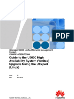 IManager U2000 V200R014C60SPC200 HA (Veritas) UExpert-based Upgrade Guide (Linux) 02