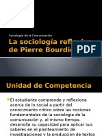 La Sociología Reflexiva de Pierre Bourdieu
