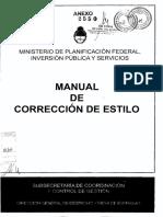 Manual de Correccion de Estilo