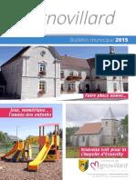 Mignovillard - Bulletin municipal 2015