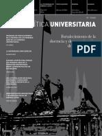 POLÍTICA UNIVERSITARIA Fortalecimiento de La Docencia y Democratizacion de La Universidad
