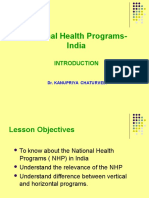 National Health Programme