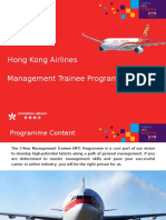 HKA Management Trainee Programme 2014