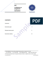 Examiners Report Specialist Diploma Environmental Management (Aug 2003 Spec)247200841938