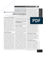 Auditoria Al Ciclo de Ingresos, Evaluacion Del Control Interno