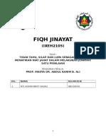 FIQH JINAYAT