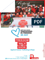 Report on Freedom Walk56