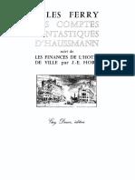 Les Comptes Fantastiques d'Haussmann - Ferry