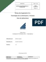 Instructivo - Instalación Primavera 8.2 v1.0 - 20120530