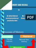 Memory & Recall