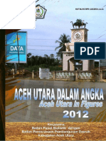 Aceh Utara Dalam Angka 2012
