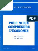 Mieux Comprendre L.economie