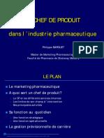 Le Chef de Produit Dans l'Industrie Pharmaceutique