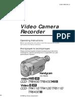 Sony handycam CCD-TR845E