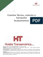 Hotel Tr.ansamerica l Acabamento- Imagens