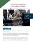 Refugee Crisis Creates 'Stateless Generation' of Children in Limbo