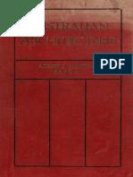 Australian Architecture, Haddon, 1908