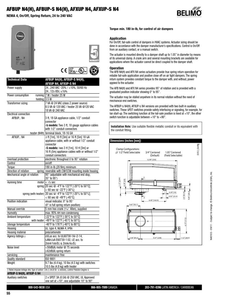 Tri State Belimo Actuator Wiring Electrical Diagrams Diagram Afbup S U2022