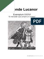 El Conde Lucanor Cuento 36