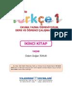 Türkçe 1 Ders Ve Öğrenci Çalışma Kitabı_Yıldırım